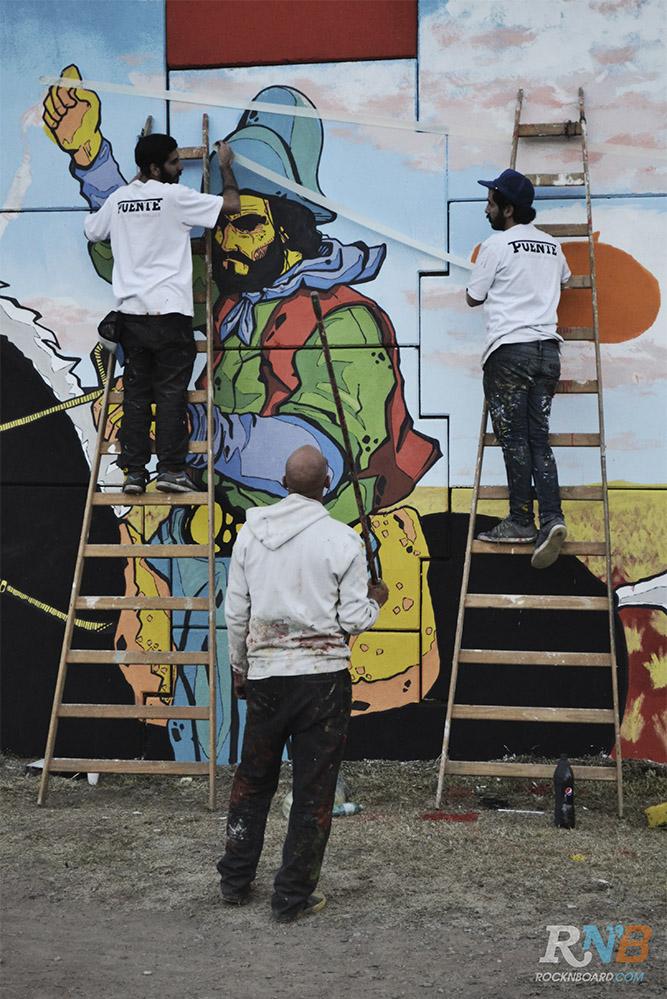 Proyecto puente c rdoba se viste de street art arte y for Club joven mural