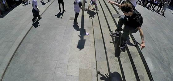 Best trick en el Dia del skate en Macba