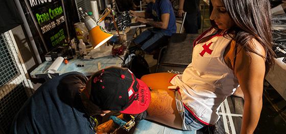 Así fue la Expo Tattoo en Mendoza, mirá: