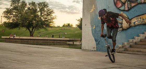 Ciudad Eco Urbana: Arte, Bicis, Parkour y mucho Hip Hop, mirá: