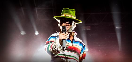 Jamiroquai en Ferro: la visita del funk