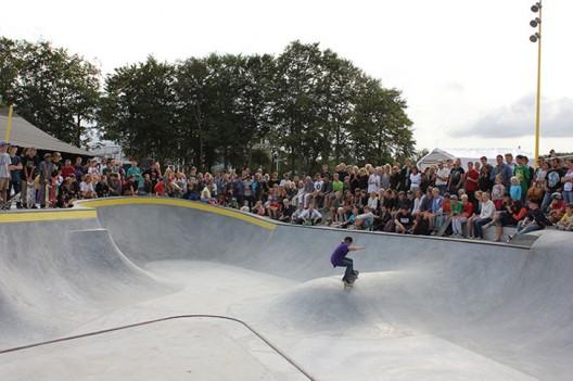 Skateparks como solución para Inundaciones