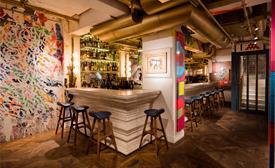 Un bar con verdadero estilo urbano, conocé el Bibo Street Art Bar