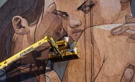 Aryz y el muralismo contemporáneo