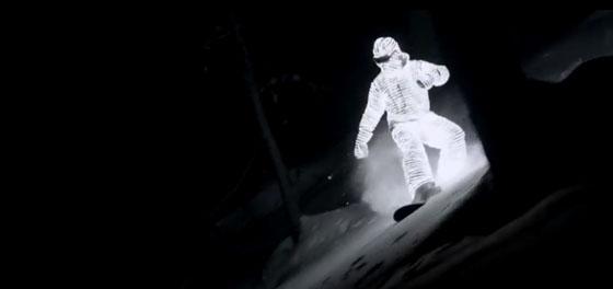 L.E.D. Surfer - Mirá el increóble video de snowboard nocturno